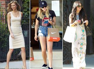 欧美街怕 | 蕾哈娜终于不乱穿 T台下的KK紧身裙配美腿