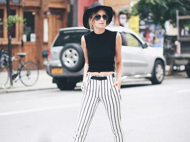 条纹大集锦丨穿对了条纹,让你横竖都时髦