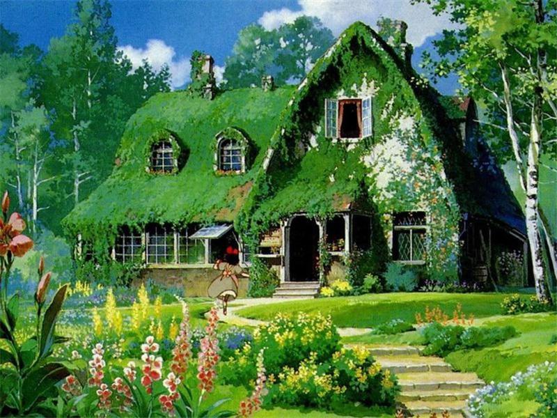 宫崎骏动漫里的唯美夏天原来都是他画的