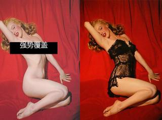 梦露生前裸照被发现 原来这些照片的原版都是裸的!