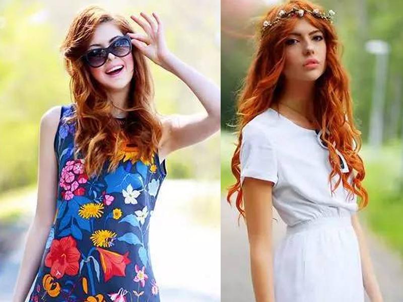 一个16岁少女竟将裙子搭配得如此漂亮!