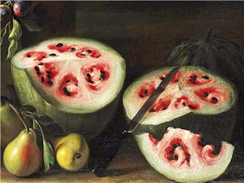 哎呀呀,300年前的西瓜竟然长这样...