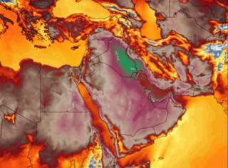 暴热!伊朗体感温度74度,炒菜都不用火了...