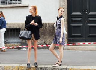 OP连衣裙+凉鞋,夏天最清凉舒服的黄金组合