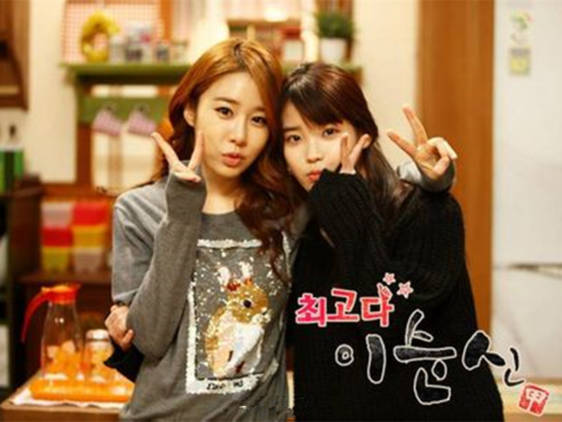 IU&刘仁娜:虽然相差11岁,但友情这事跟年龄没关系