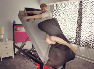 弹弹弹!你需要一个弹走起床气的神奇弹床!