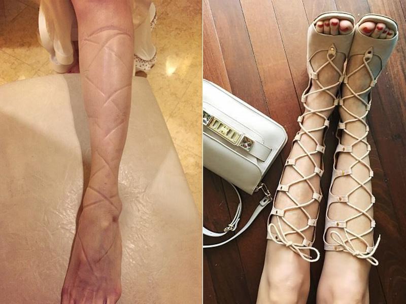 修腿利器 | 让孙燕姿伤痕累累也要穿得 是今年最流行的罗马靴