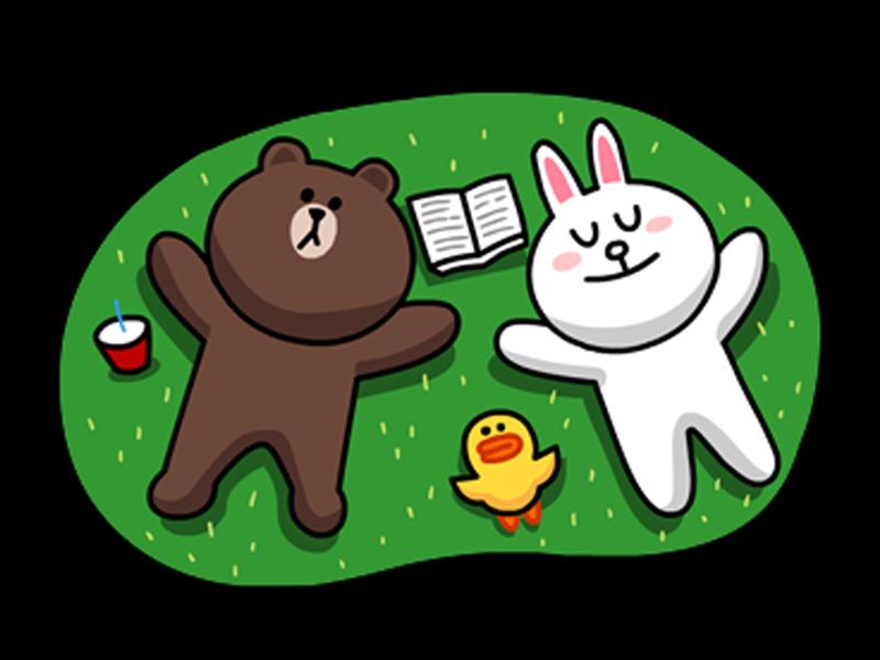 这只我们熟悉的呆呆熊和萌萌兔 现在有咖啡厅啦