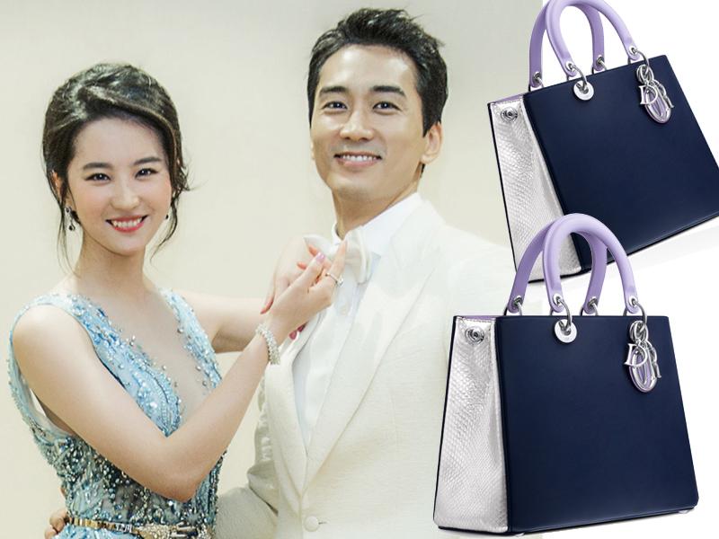 刘亦菲背Dior约会宋承宪  爱情甜蜜蜜包包也吸睛