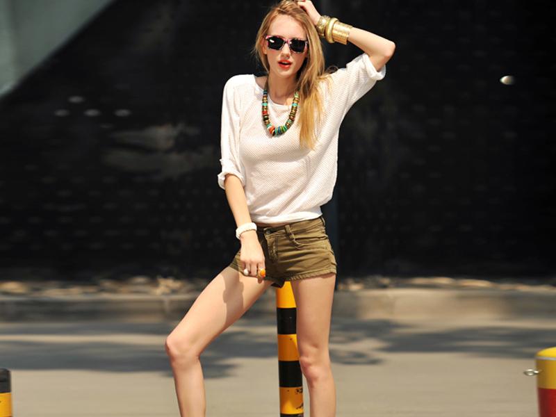 短裤应该这样穿才是对的!