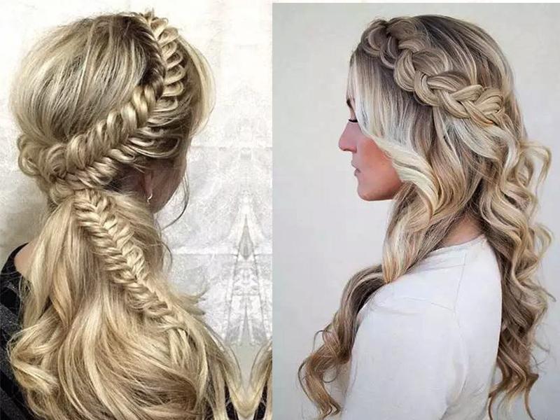 不是扎一半的发型都能叫公主头,这些才美到窒息!