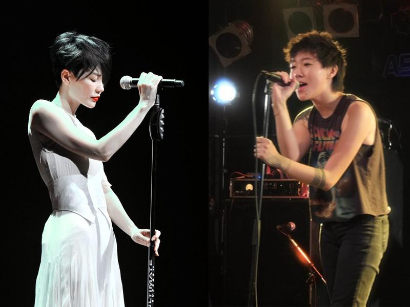 窦靖童穿摇滚背心在日本出道首秀 妈妈王菲没来但是也不遗憾
