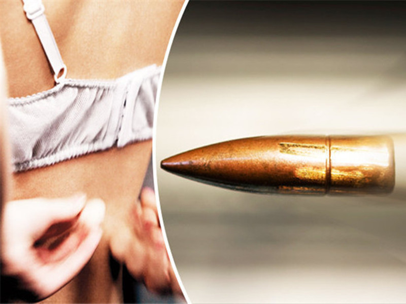 猎人子弹打歪射中骑车女子,结果被内衣钢圈弹开了...