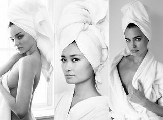 这组征服所有女明星裸体的浴袍照,又添新成员了!
