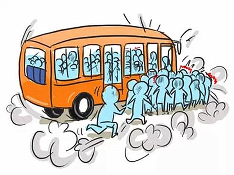 挤公交8大定律,不中来单挑!