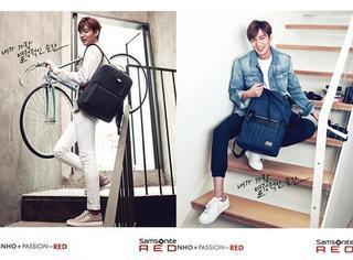 李敏镐给包包代言广告,除了包我看到的还有——腿!腿!腿!