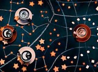 曲奇和咖啡做成的星空也可以这么美!