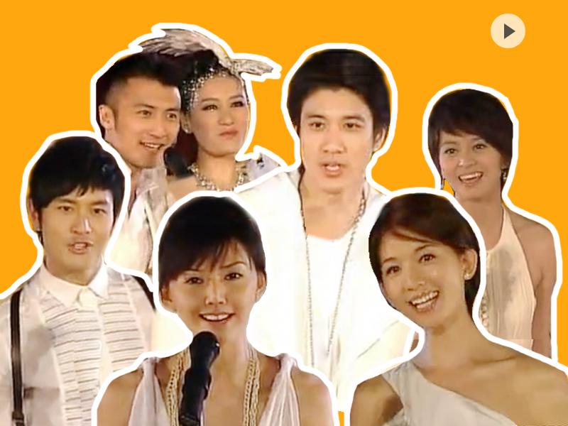 橘子视频 | 据说这是最早的小咖秀!全明星史上最大阵容