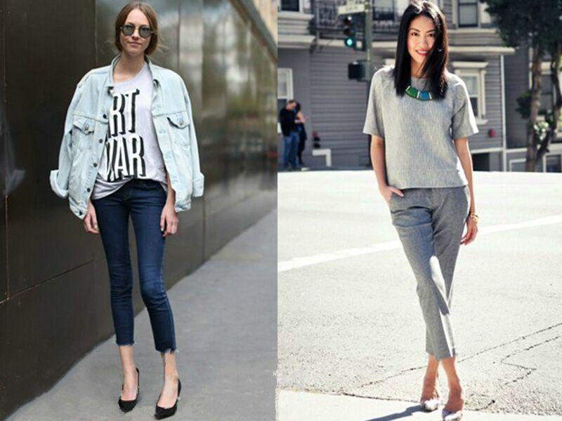 经典新穿法 | 小脚裤穿搭出3种不同风格