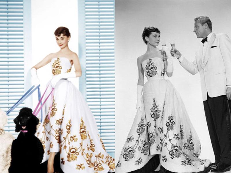 时装与电影的互相成就—奥黛丽·赫本与纪梵希