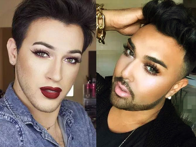 会化妆的男人真可怕!