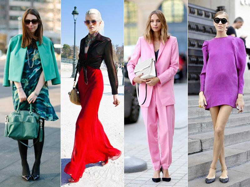 最美的4个颜色,是女人穿就好看!