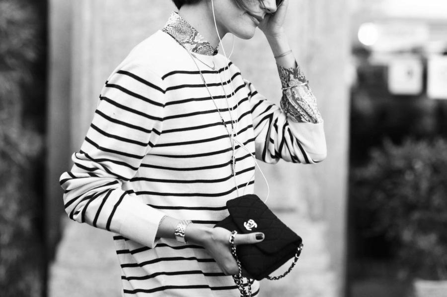 穿不错小姐   你拥有很多的条纹衫,却唯独少了这一件!