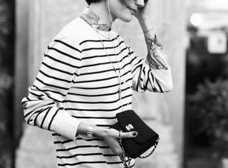 穿不错小姐 | 你拥有很多的条纹衫,却唯独少了这一件!