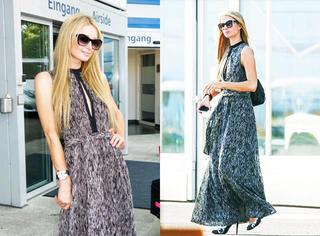 今天她最美 | 帕丽斯·希尔顿 长腿长裙穿出豪门霸气!