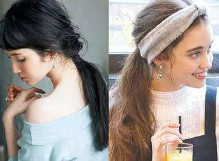 慵懒低马尾 今夏最有女人味的发型就是它!