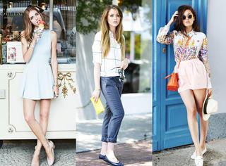 欧美街拍|10位全球最会穿时尚博主 教你怎么穿衣服!