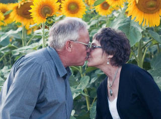 最深的爱情是思念,老爷爷为亡妻种植400英亩向日葵