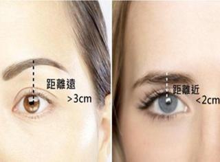 化妆大师告诉你,眉眼距离多远最适合