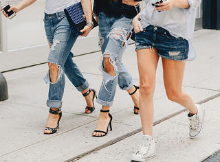 夏末初秋,牛仔裤就要这么搭!