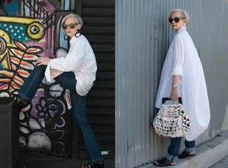 这个满脸皱纹的奶奶火遍了国外时尚圈原因竟是:她最会臭美!