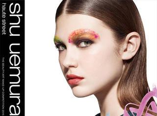 植村秀发布联名彩妆 涂鸦风格的包装好炫酷