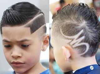 超酷!小正太教你用发型迷倒一条街!
