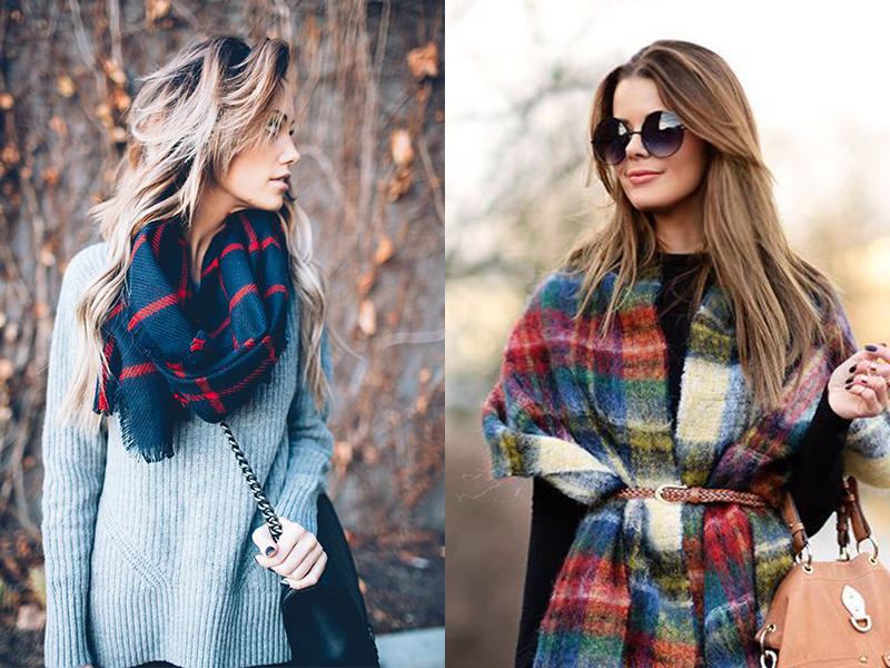 学会这五个围巾系法 让你时髦整个秋冬