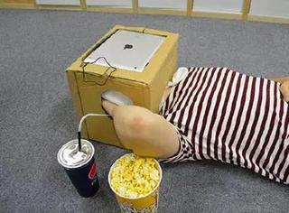 """日本人发明了个看片神器,叫""""一个人的电影院"""",好想来一件!"""
