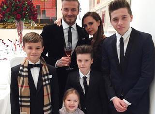 贝克汉姆一家的豪华时尚进化史,就是不离婚的最佳铁证!