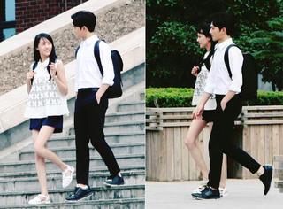 杨洋和郑爽教你如何正确用情侣装秀恩爱!