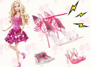 真人版芭比娃娃鞋,穿上它你也能当小公举!