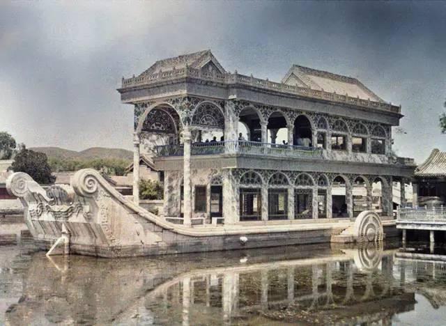 100年前法国人镜头下的彩色中国,太珍贵了!