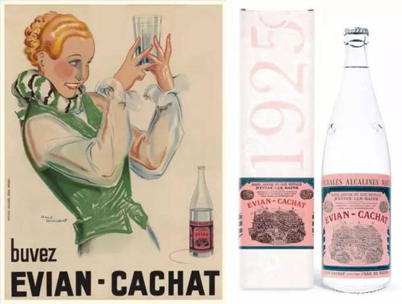 1925年的欧洲贵妇教你一瓶水的时髦