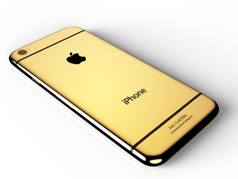 亮瞎眼!24K黄金版iPhone6s开启预订,价格吓死宝宝了