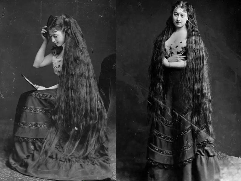 史海钩沉:维多利亚时代女性的及踝长发