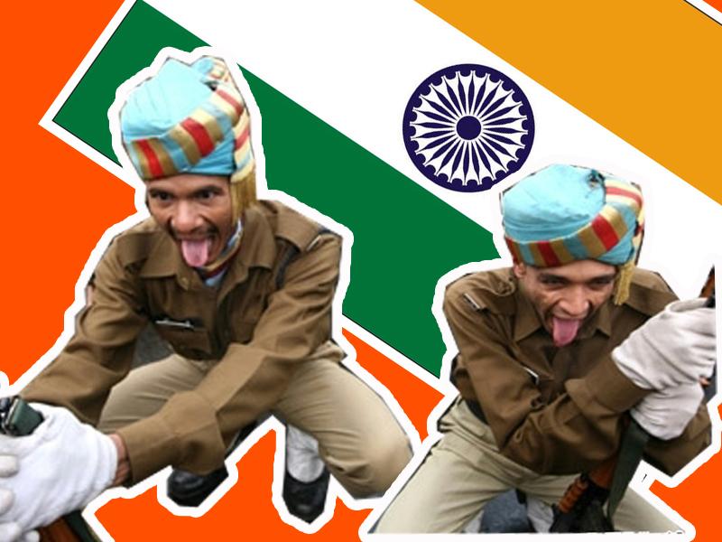 橘子视频 | 印度阅兵再度开挂,你是要飞啊~~