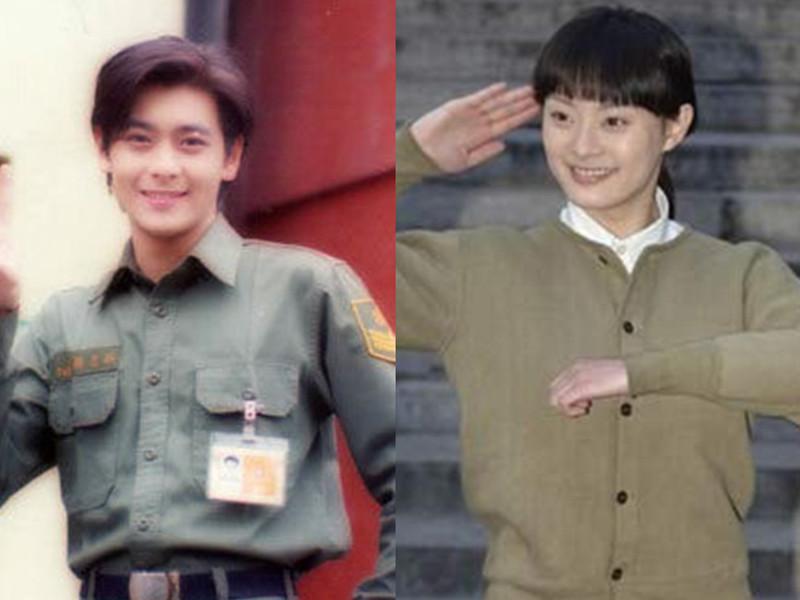 林志颖、金星、孙俪,原来他们曾经都是帅气美腻的兵哥兵姐!
