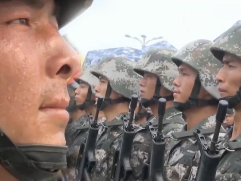 橘子视频 | 阅兵战士背后的故事,看完之后会更感动!