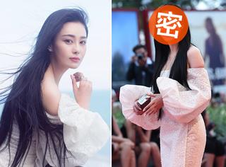 威尼斯电影节 | 张馨予抹胸长裙现身 PS前后差异大!